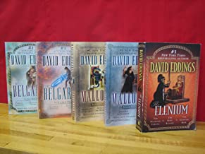 David Eddings Collection, 3 Complete Series in 5 Volumes Set: The Belgariad Series; The Malloreon Series; The Elenium Seri...