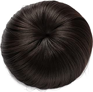 Black Wig In A Bun