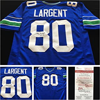 steve largent jersey authentic