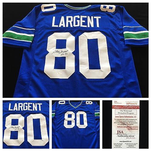 best cheap da747 1964d Steve Largent Jersey: Amazon.com