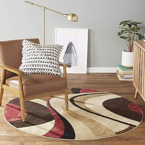 Round Living Room Accent Rugs: Amazon.com
