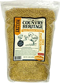Country Heritage Medicated Chick Starter/Grower Crumbled Feed 5 Pounds