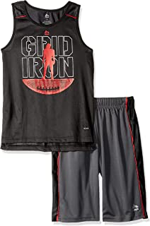 RBX Boys 2 Piece Performance Top and Short Set Shorts Set