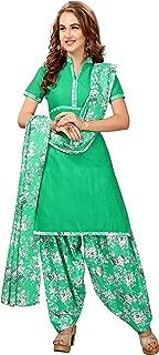 minu Women's Cotton Salwar Suits Sets Stitched