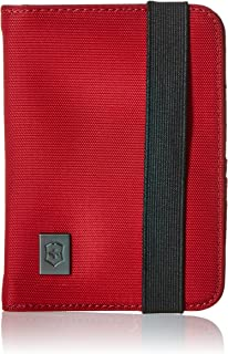 Victorinox Passport Holder with RFID Protection, Red/Black Logo (red) - 311722