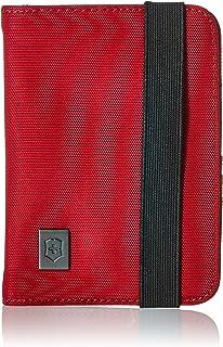 Victorinox - Soporte para pasaporte con protección RFID, rojo, negro (Red/Black Logo), Una talla