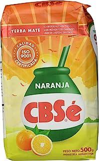 comprar comparacion Yerba Mate CBSé Naranja Sabor (naranja)