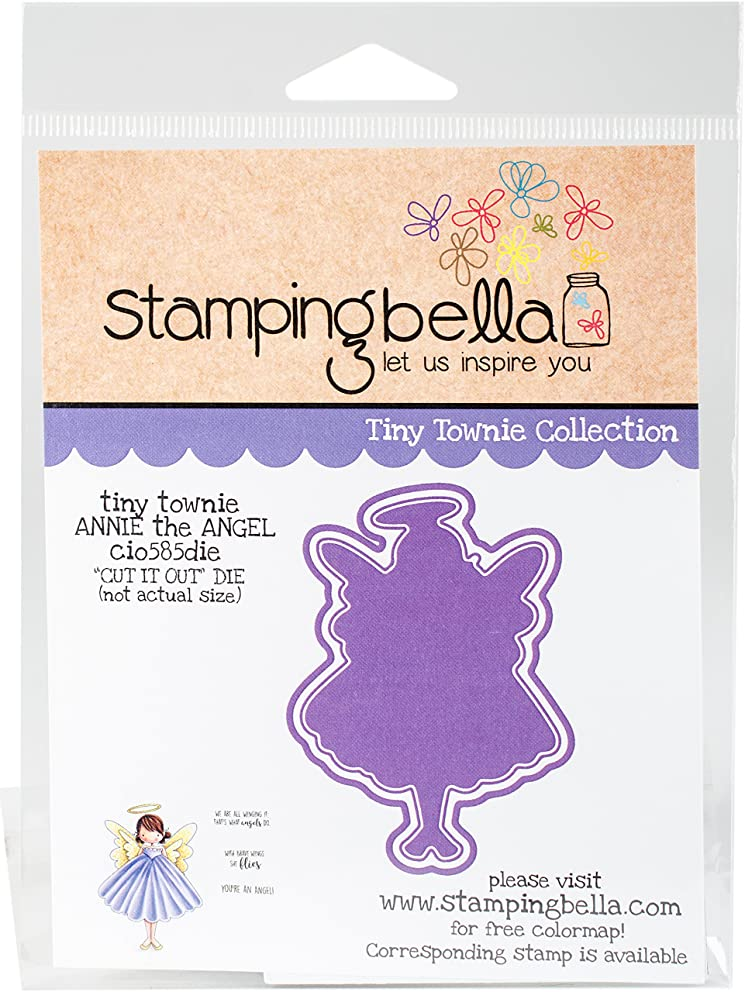 Stamping Bella Annie is an Angel Cut It Out Dies