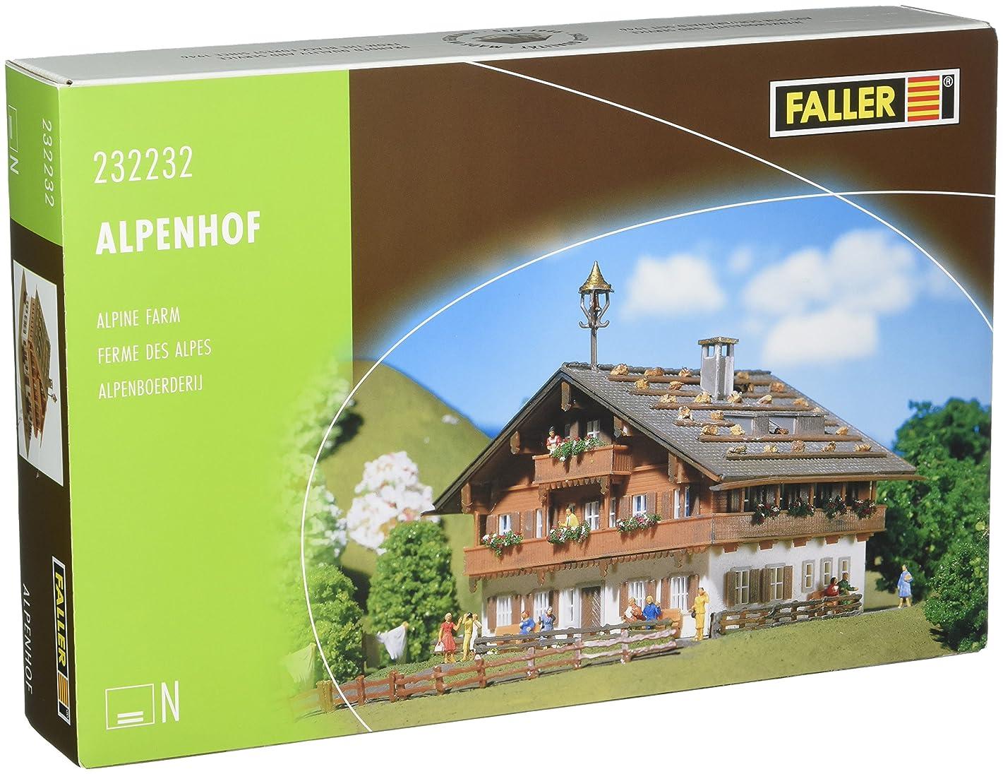 Faller 232232 Alpine Farm House N Scale Building Kit