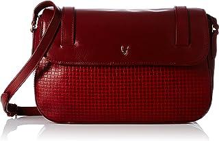 Hidesign Women's Sling Bag(MARAK MEL RAN RED MARSALA)