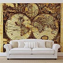 Imprim/é sur 130g//m2 papier intiss/é EasyInstall 1X-9740VEM /ÉCHANTILLON - 1 Parts LxH 104cm x 70.5cm Cro/ûte DArbres Bois Texture Macro Th/ème Textures et effets Papier peint mural