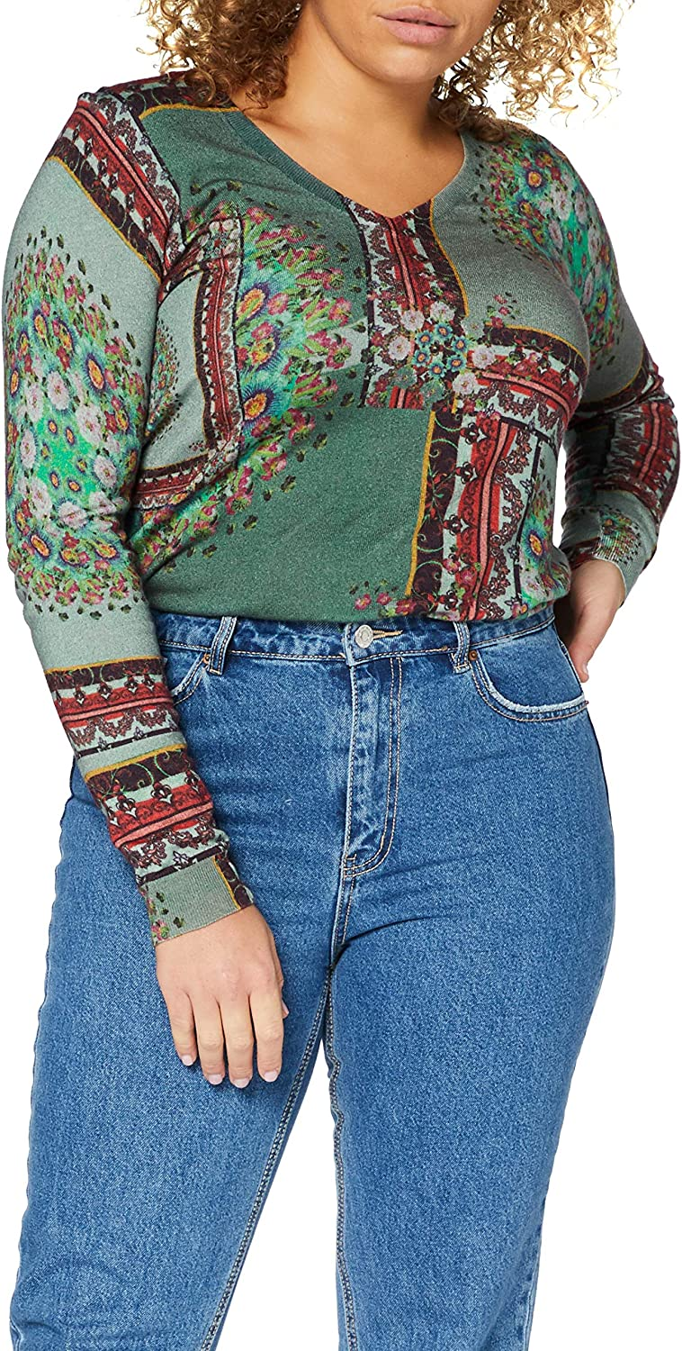 Desigual Dundee Jumpers & Cardigans Women Multicolour - S - Jumpers Sweater