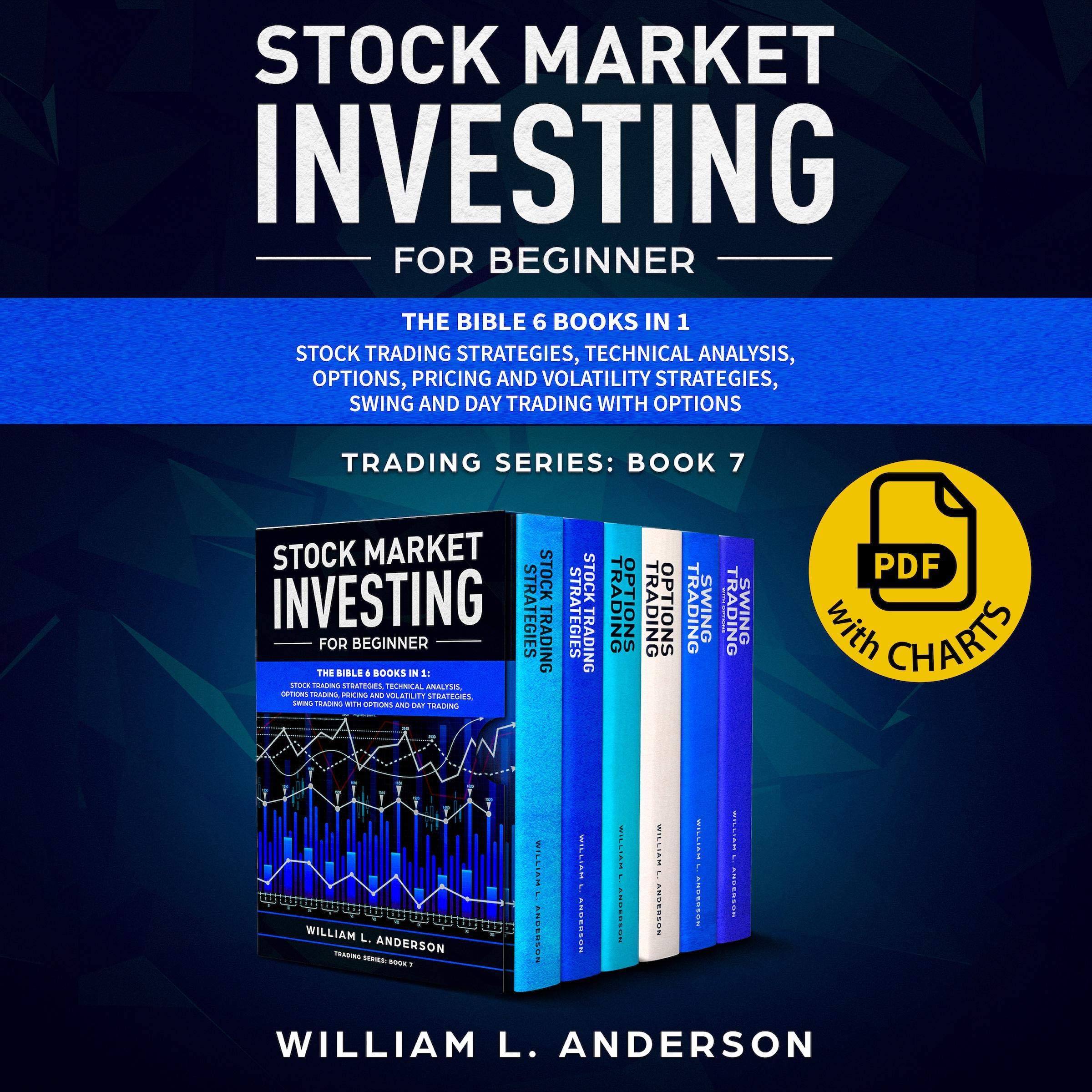 Stock Market Investing for Beginner: The Bible 6 Books in 1: Stock Trading Strategies, Technical Analysis, Options, Pricing and Volatility Strategies, Swing and Day Trading with Options