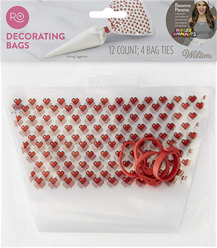 Rosanna Pansino Disposable Decorating Bags 12 Ct By Wilton