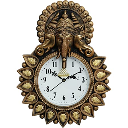 Dininecraft® Wall Clock for Wall Decor and Home Decor, Living Room, Bedroom
