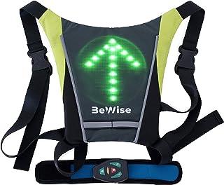 Gilet LED Clignotants Réfléchissant, Ideal pour les Cyclistes qui Veulent etre en..