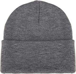 Luxina Knit Watch Hat Winter Warm Beanie Hat Chunky Slouchy Skull Cap Soft Stretch Cable Knit Hat for Wen Women
