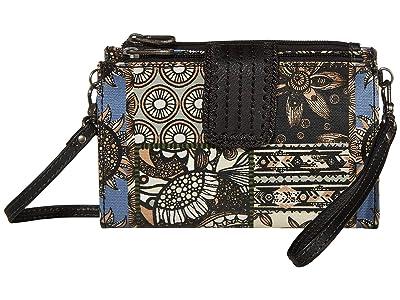 Sakroots Olympic Smartphone Crossbody (Black Desert Patch) Handbags