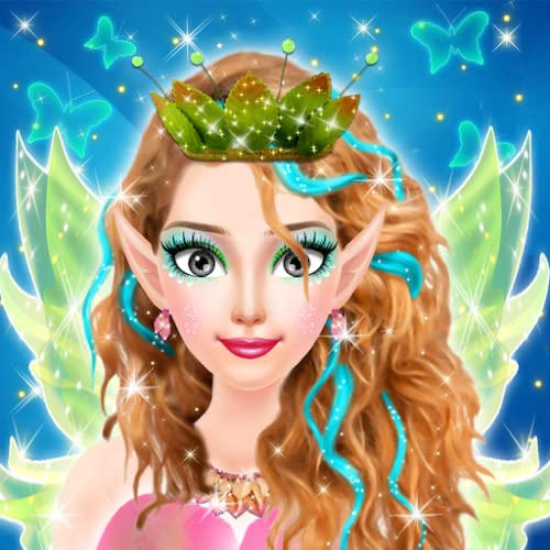 Fairy Tale Fashion Salon - Spa, Make Up and Dress Up - Fairy Tale Princess Makeover Game