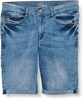 s.Oliver Junior 402.10.106.26.180.2064999 Pantalones Cortos de Jean, 56Z6, 170 para Niños