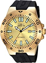 Invicta Men's Pro Diver Stainless Steel Automatic-self-Wind Watch with Polyurethane Strap, Black, 32 (Model: 23484)