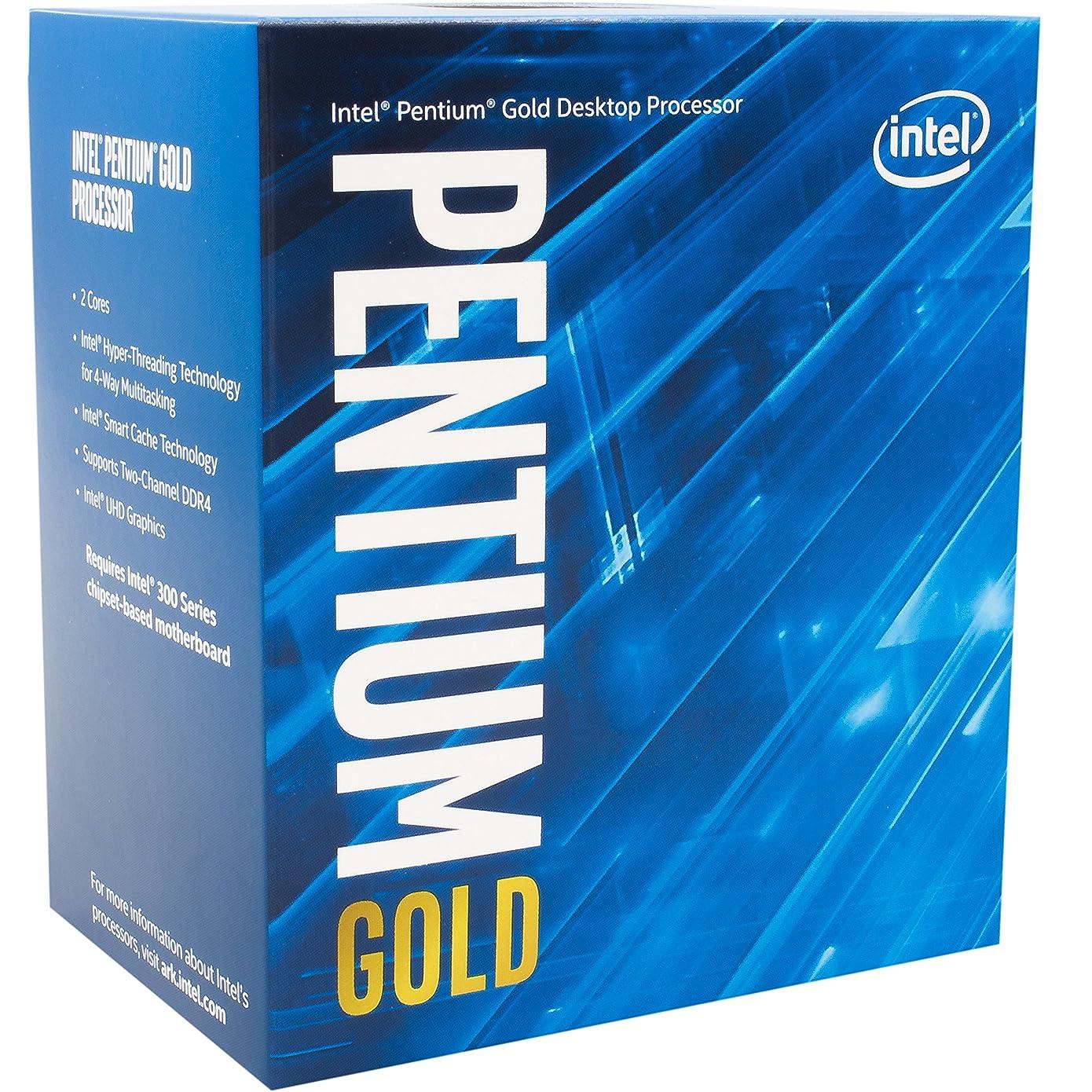 祈り同意地雷原Intel CPU Pentium G5400 3.7GHz 4Mキャッシュ 2コア/4スレッド LGA1151 BX80684G5400【BOX】【日本正規流通品】
