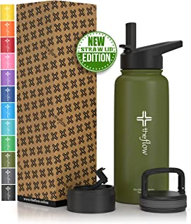 Best olive green water bottle Reviews