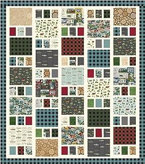 Echo Park Paper Co. Gone Camping Craftsman Quilt Kit Riley Blake Designs KT0166