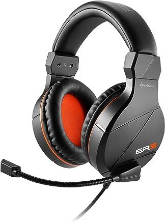 Sharkoon RUSH ER3 cuffie gaming con microfono, grandi e confortevoli, controllo del volume, nere - Trova i prezzi più bassi