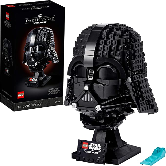 LEGO 75304 Star Wars Casco de Darth Vader, Maqueta para Construir, Manualidades para Adultos, Set de Coleccionista