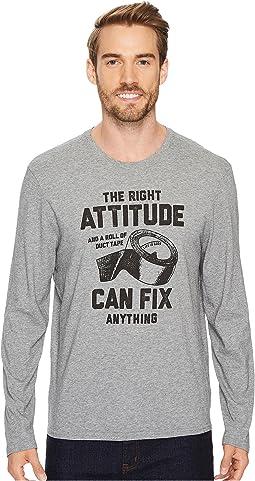 Life is Good - Attitude Fix Long Sleeve Smooth Tee