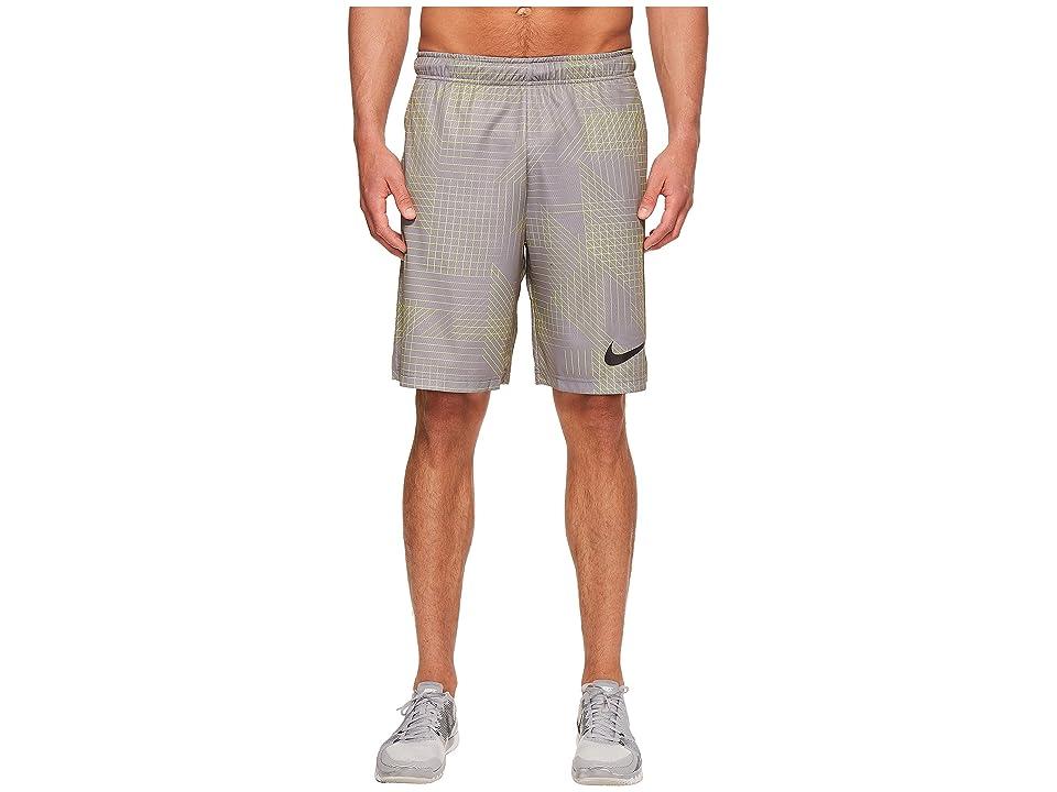 Nike Dry Training Short (Gunsmoke/Black) Men