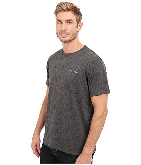 Shirt Silver Columbia Ridge Sleeve Zero™ Short XwZqUZv