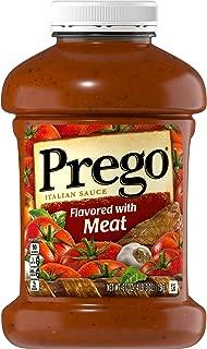 Prego Pasta Sauce, Italian Tomato Sauce with Meat, 67 Ounce Jar