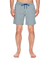 Geometric Printed Dale Swim Trunks