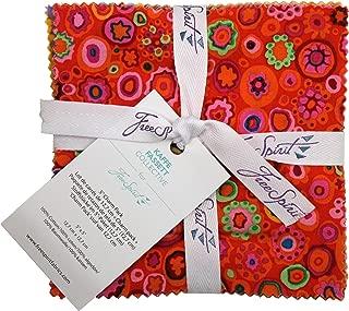 Free Spirit Fabrics Kaffe Fassett Collective Citrus Five Inch Charm Pack 42 Fabrics