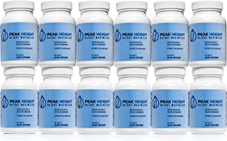 #1 Grow Taller Height Pill Supplement - Peak Height 12 Month Supply - Height Supplement - Doctor Recommended - How to Grow...
