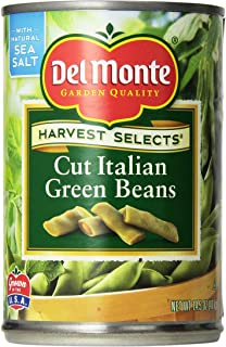 Del Monte Cut Italian Green Beans 14.5oz Can (Pack of 6)
