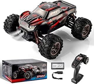 BEZGAR 5 Hobbyist Grade 1:20 Scale Remote Control Truck, 4WD High Speed 30 Km/h All Terrains Electric Toy Off Road RC Monster Vehicle Car Crawler with Rechargeable Batteries for Boys Kids and Adults