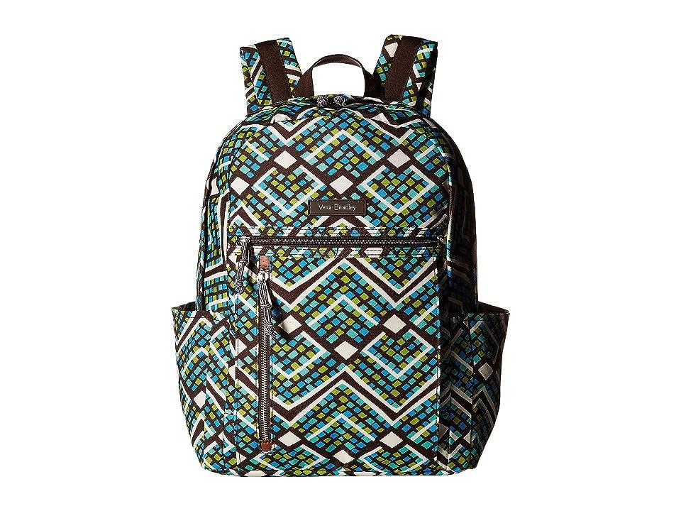 Vera Bradley Small Backpack (Rain Forest) Backpack Bags