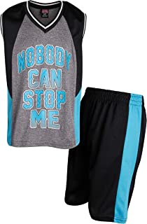Mad Game Boys 2-Piece Basketball Performance Tank Top and Shorts Set