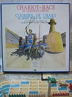Chariot-Race at Carthage Circus 1986 Board Game (Courses de Chars au Grand Cirque de Carthage)