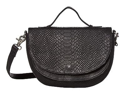 Day & Mood Brandi Top-Handle (Black) Handbags