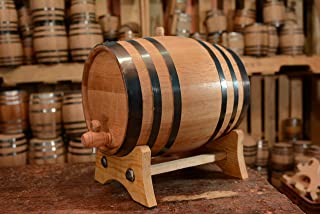 20-Liter American White Oak Aging Barrel   Age your own Tequila, Whiskey, Rum, Bourbon, Wine