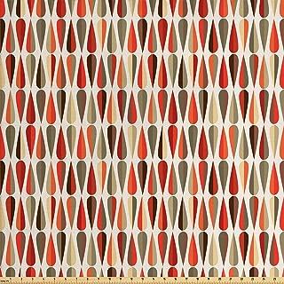 Best 70s print fabric Reviews