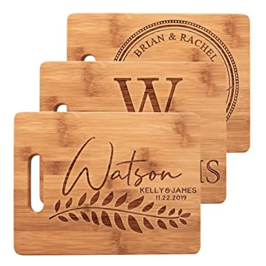 Personalized Gifts Cutting Boards for Kitchen Mothers day Gifts Cutting Board Wedding Gifts For The Couple Bridal Shower Gifts Housewarming Gifts - Size: Medium