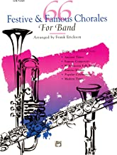 66 Festive and Famous Chorales for Band for 1st B-flat Trumpet