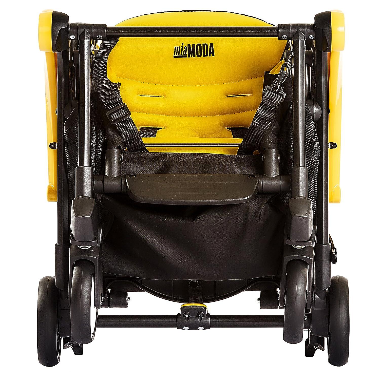 Mia Moda Enzo Urban Stroller, Yellow