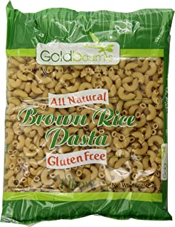 Goldbaums Brown Rice Pasta, Elbows, 16 Ounce (Pack of 12)