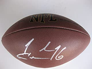 Joshua Cribbs, Josh Cribbs, New York Jets, Cleveland Browns, Kent State, Signed, Autographed, NFL Football, a COA with the Proof Photo of Josh Signing Will Be Included